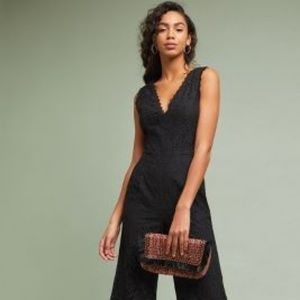 ANTHRO Farrah Cropped Jumpsuit by Greylin